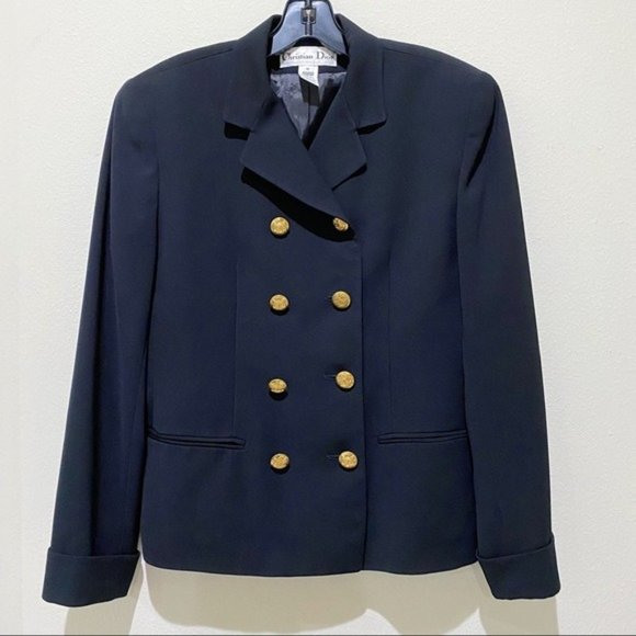 Christian Dior Vintage Double Breasted Blazer
